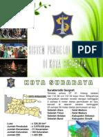 Sistem Pengelolaan Sampah Kota Surabaya