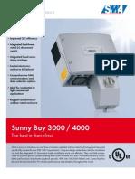 SMA SunnyBoy 3000US / 4000US