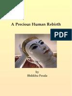 A Precious Human Rebirth