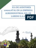 PRÁCTICA DE AUDITORÍA AMBIENTAL EN LA EMPRESA AGROINDUSTRIAL SOL DE LAREDO S.A.A.
