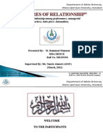 Business Mathmatics & Statistics Presentation by Hammad