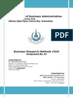 Assignment 1st_524_Business Reserach
