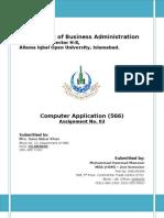 Assignment 2nd_566_Computer Application