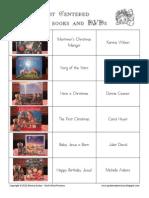 Christ Centered Christmas Book & DVD List