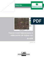 TUTORIAL ARCGIS BASICO