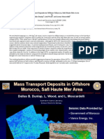 Mass Transport Deposits in Offshore