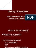 History Numbers