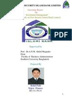 Intern ship report published by Rahul palit.