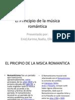 El Principio de la música romántica