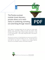 Dig - Brand Identity Research by Traction