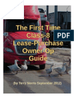 The First Time Class-8 Lease-Purchase Owner-Op Guide
