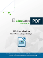 LibreOffice Writer Guide