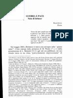 Jucci - Guerra e Pace Nell'Ebraismo, A Qumran - The Dead Sea Scrolls -, Tra Gli Esseni, Nel Cristianesimo, Nell'Islam
