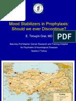 Drug Discontinuation in Bipolar