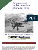 Regia Aeronautica Camouflage 1940