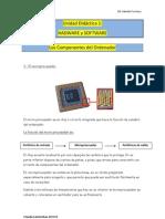 3.-Unidad Didáctica(SOFTWARE Y HADWARE) El microprocesador.