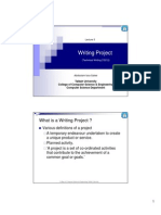 Writing Project (Technical Writing CS212)