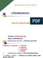 Leishmanioze Cutanate Si Viscerale