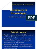 Introducere in Parazitologie