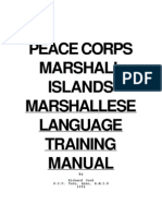 MARSHALLESE language.
