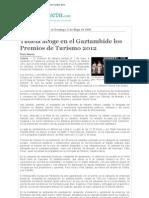 Tudela Acoge en El Gaztambide Los Premios de Turismo 2012 (Plaza Nueva)