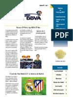 Boletin Palco Liga BBVA 2º año 3ª Edicion IMPRIMIR