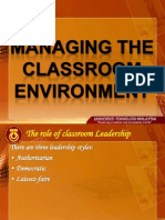 Week13 Managing the Classroom Environment Full Version 1