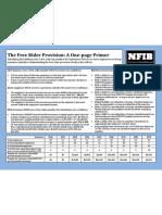 Obama Care Free Rider Provisions