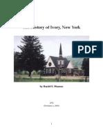 History of Ivory, NY