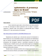 Suplemento_A presença negra no Brasil