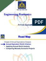 Annual Equivalence Analysis - Engineering Economics