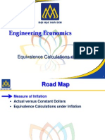 Equivalence Calculations under Inflation - Engineering Economics