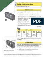 Banner C GAGE SLC1 Label Sensors