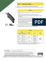 Banner D10 Discrete Output
