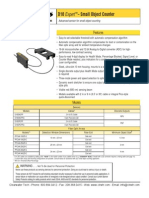 Banner D10 Object Counter