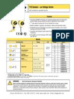 Banner T18 Compact Photoelectric Sensors