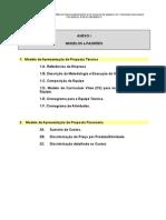 Modelo de Apresentasao de Proposta Tecnica