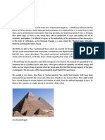 Glass Pyramid of Bermuda Triangle