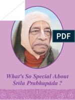 What's So Special About Srila Prabhupada_