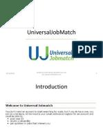 Universal Job Match