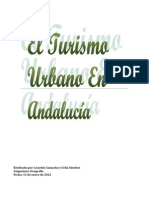 Turismo urbano en Andalucía