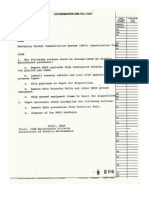 Emergency Rocket Communications System Deactivation Plan, circa 1992