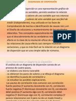 Presentación DIAGRAMAS DE DISPERSION
