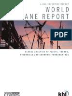 World Crane Report Samples
