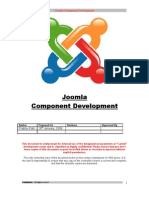 Joomla Component Development Backend
