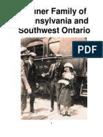 Bruner Family of Pennsylvania and Southwest Ontario