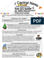 Newsletter Autumn 12 2012