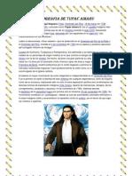Biografia de Tupac Amaru