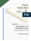 1246018248.Tenti Fanfani - LA ESCUELA Y LA CUESTIÓN SOCIAL