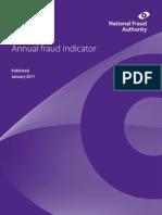 Annual Fraud Indicator 2011